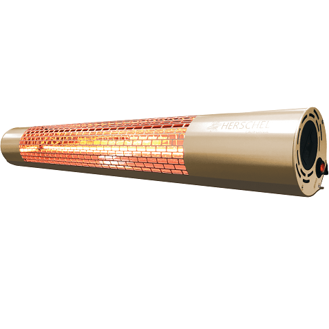 Herschel California 2000W Rose Gold patio heater